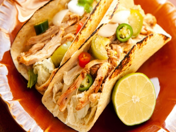 Heart Healthy Recipe: Chicken Tacos With Tomato And Grape …