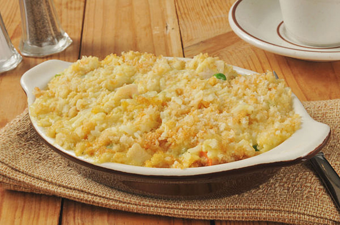Hearty & Classic Casserole: Creamy Chicken And Rice Bake ...