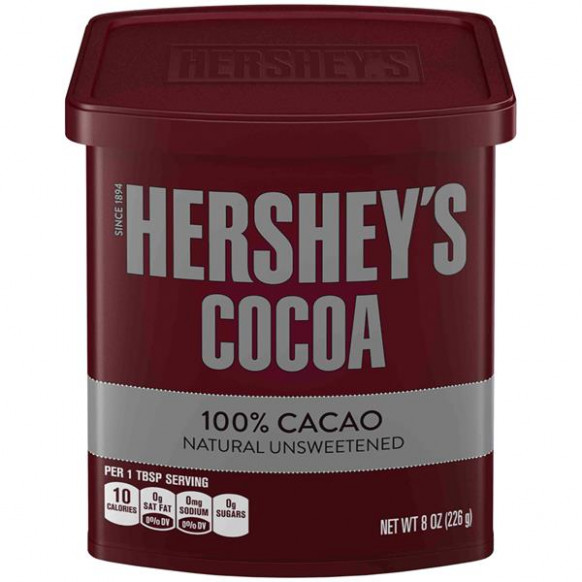 Hershey's Naturally Unsweetened Cocoa | Hy-Vee Aisles ...