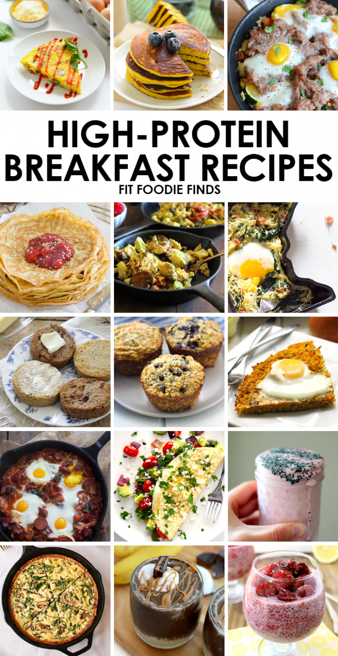High-Protein Breakfast Recipes - Fit Foodie Finds