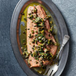 Holiday Dinner Menu With Olive Caper Salmon, Mushroom Soup …