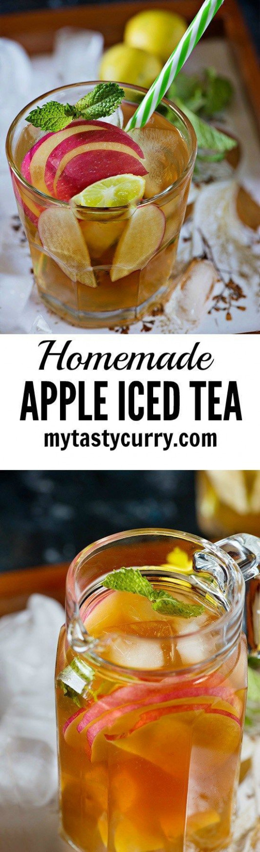 Homemade Apple Iced Tea | Recipe | Drinks for Any Occasion ...