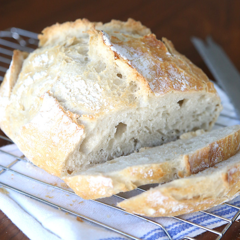 Homemade Artisan Bread Easiest Bread Recipe EVER! – It's …