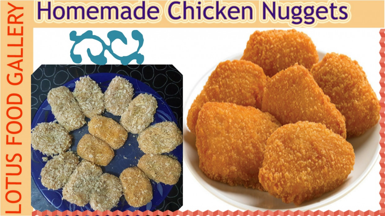 Homemade Chicken Nuggets Recipe - Lotus Food Gallery