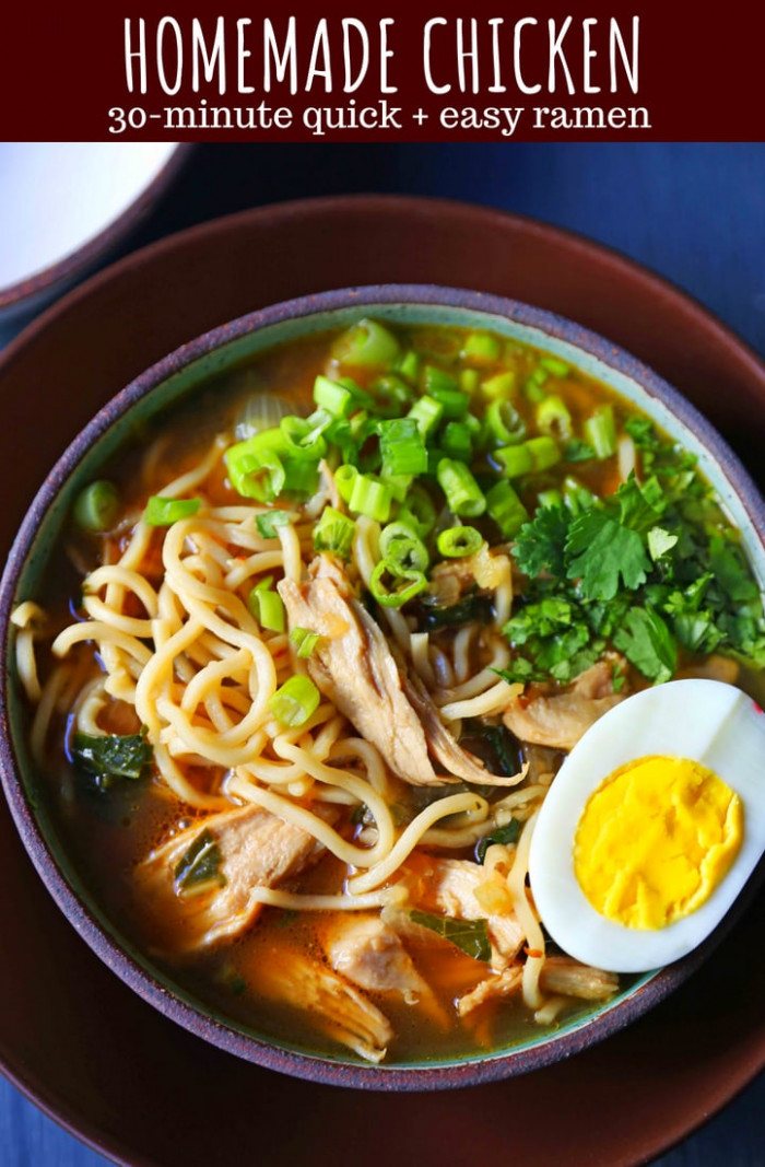 Homemade Chicken Ramen – Modern Honey