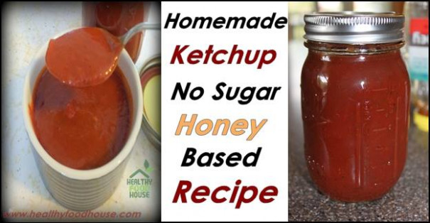 Homemade Ketchup Recipe - Healthy Food House
