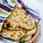 Homemade No Yeast Garlic Butter Naan | Bread | Recipes …