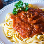 Homemade Spaghetti Sauce Recipe - Healthy and No Sugar Added