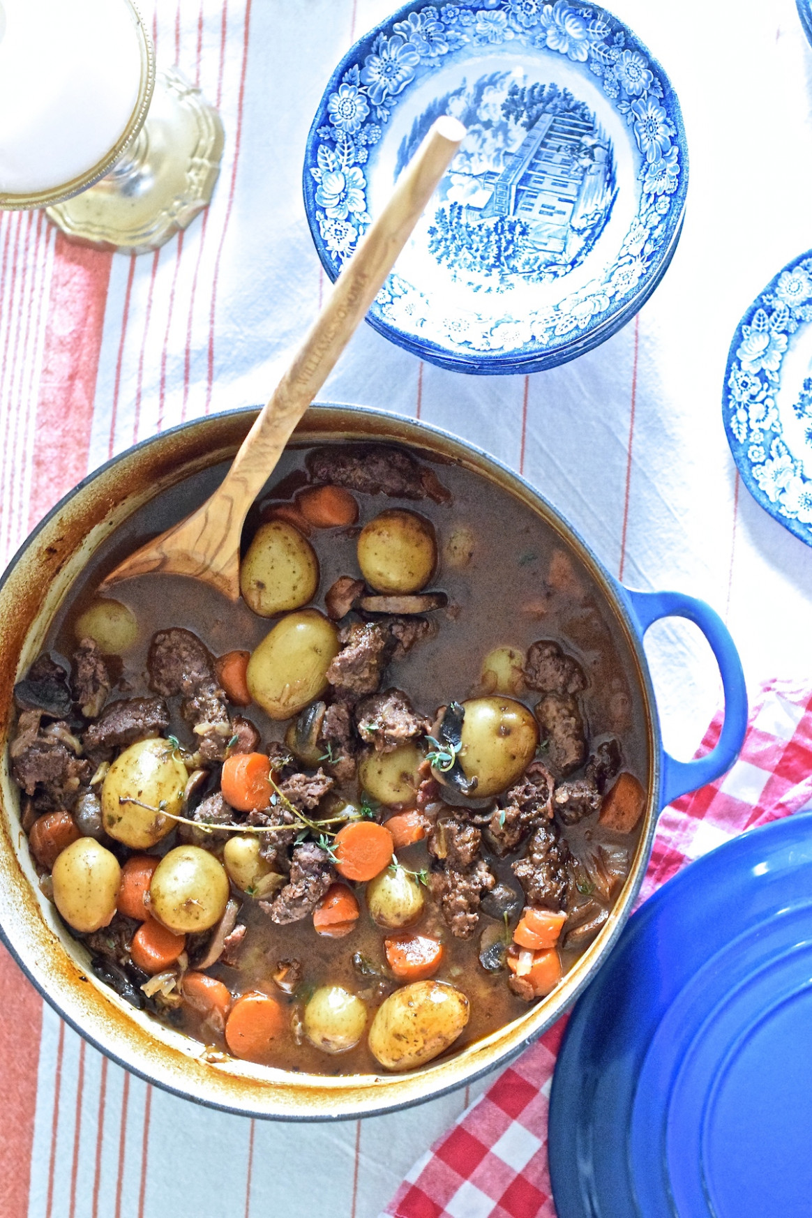 Homemade Venison Stew - Darling Down South
