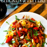 Honey Balsamic Chicken And Peppers – First Home Love Life