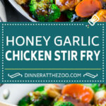 Honey Garlic Chicken Stir Fry - Dinner at the Zoo