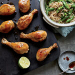 Honey Lime Drumsticks With Snow Peas & Brown Rice Recipe …