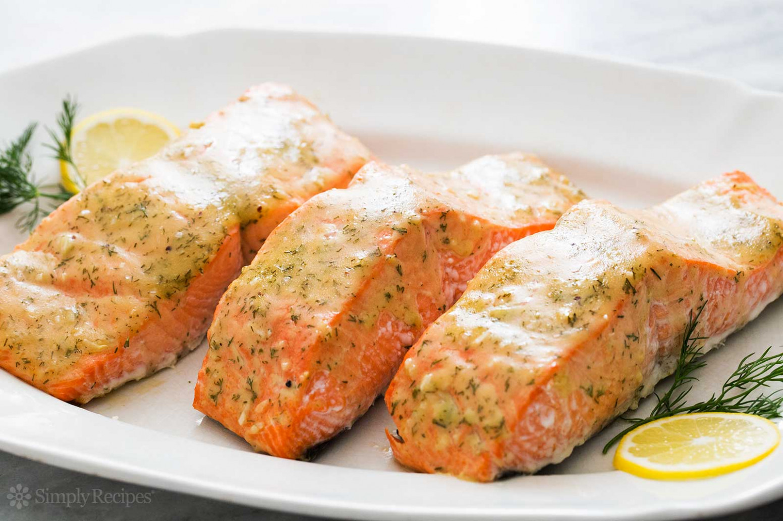 Honey Mustard Baked Salmon – Quick. Easy. Healthy …
