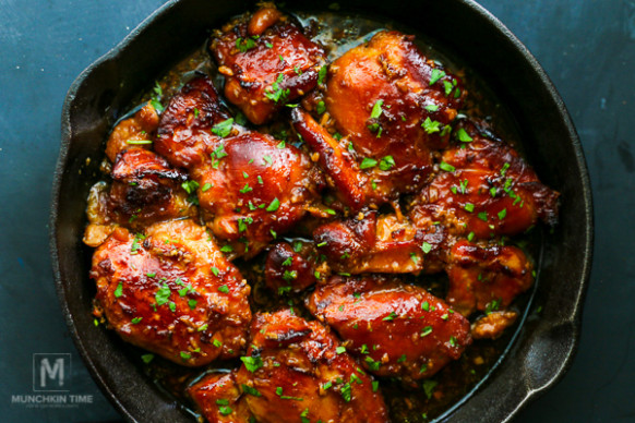 Honey Soy Chicken Thighs Recipe – Munchkin Time