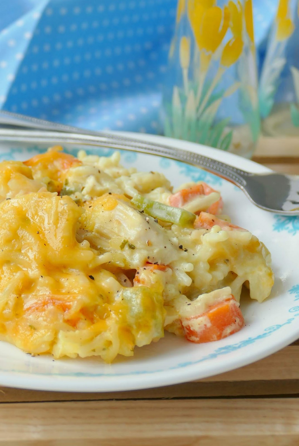Hot Eats and Cool Reads: Crack Chicken and Rice Casserole ...
