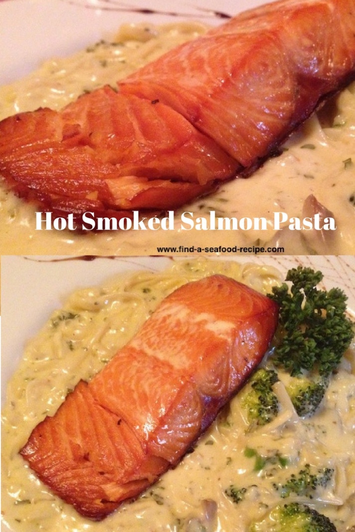 Hot Smoked Salmon Pasta