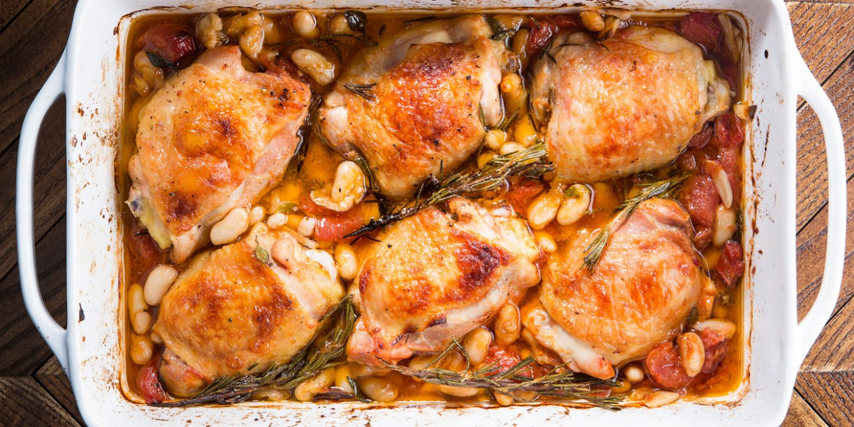 How To Cook an Easy Chicken Dinner Without a Recipe ...