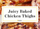 How To Cook Boneless, Skinless Chicken Thighs in the Oven ...