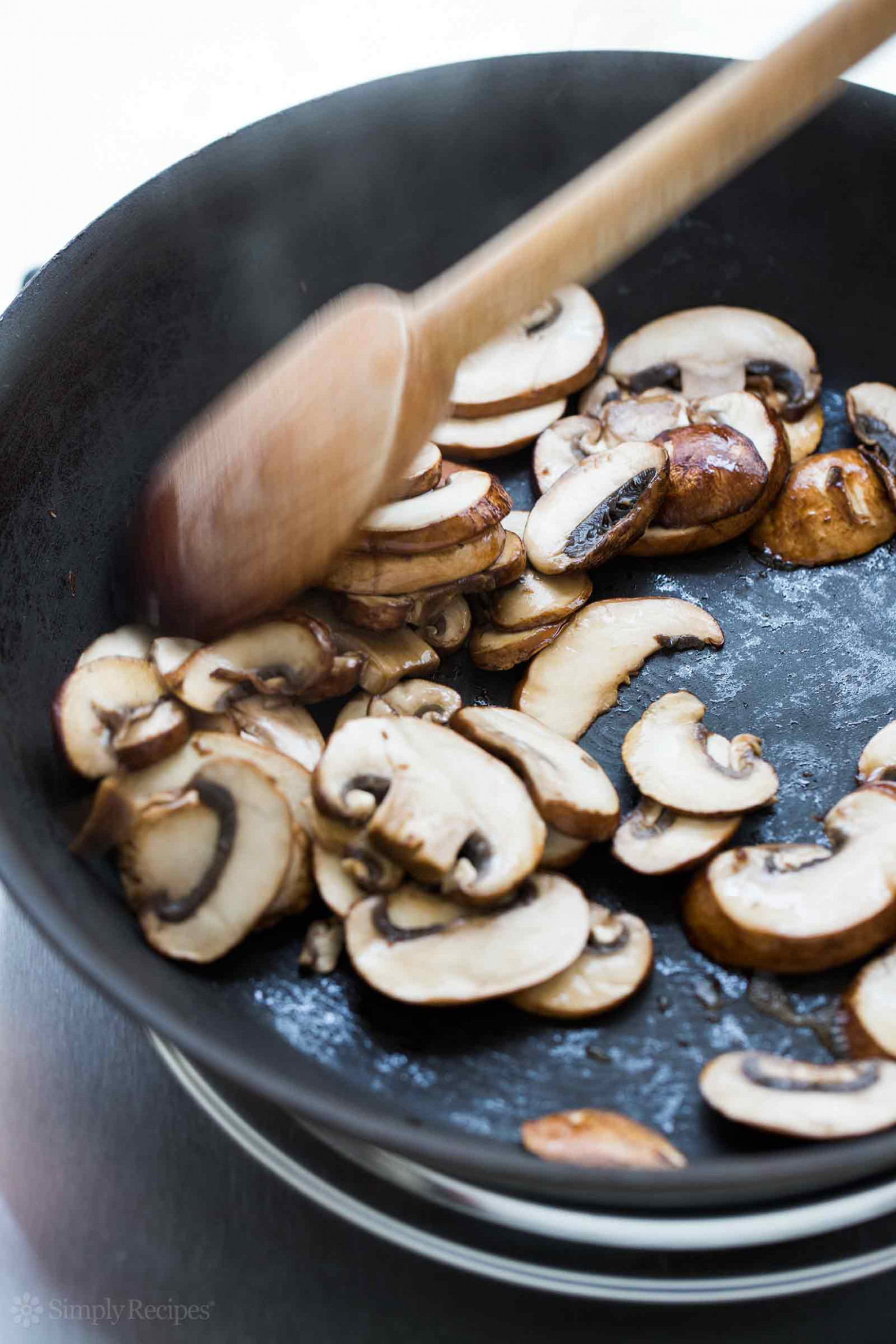How to Dry Sauté Mushrooms