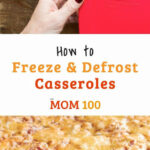 How To Freeze And Defrost Casseroles | The Best Of Food …