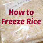 How To Freeze Rice. Easy Step By Step Instructions On How …