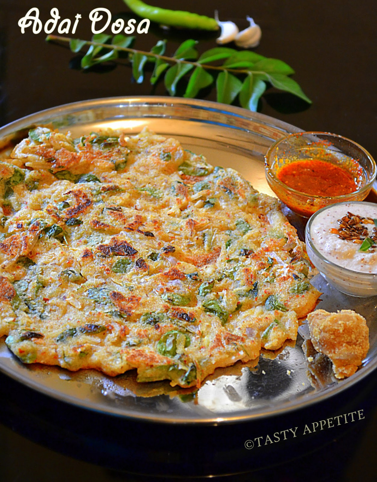 How to make Adai / Adai Dosa / Easy Breakfast Recipes: