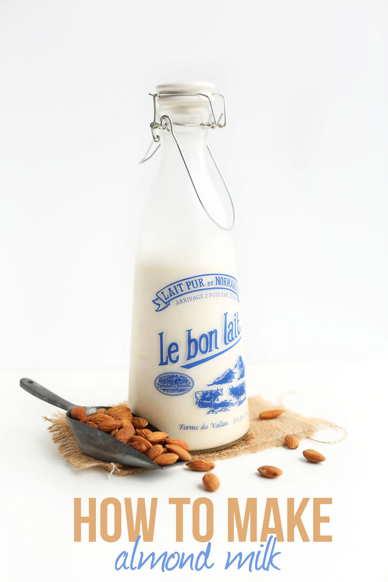 How to Make Almond Milk | Minimalist Baker Recipes