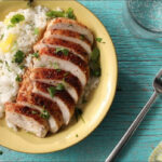How To Make Caribbean Chicken With Pineapple Cilantro Rice …
