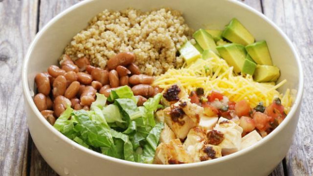 How to Make Chipotle Chicken Quinoa Burrito Bowls - EatingWell
