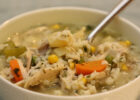 How To Make Classic Chicken and Rice Soup : Glorious Soup ...