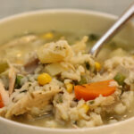 How To Make Classic Chicken And Rice Soup : Glorious Soup …