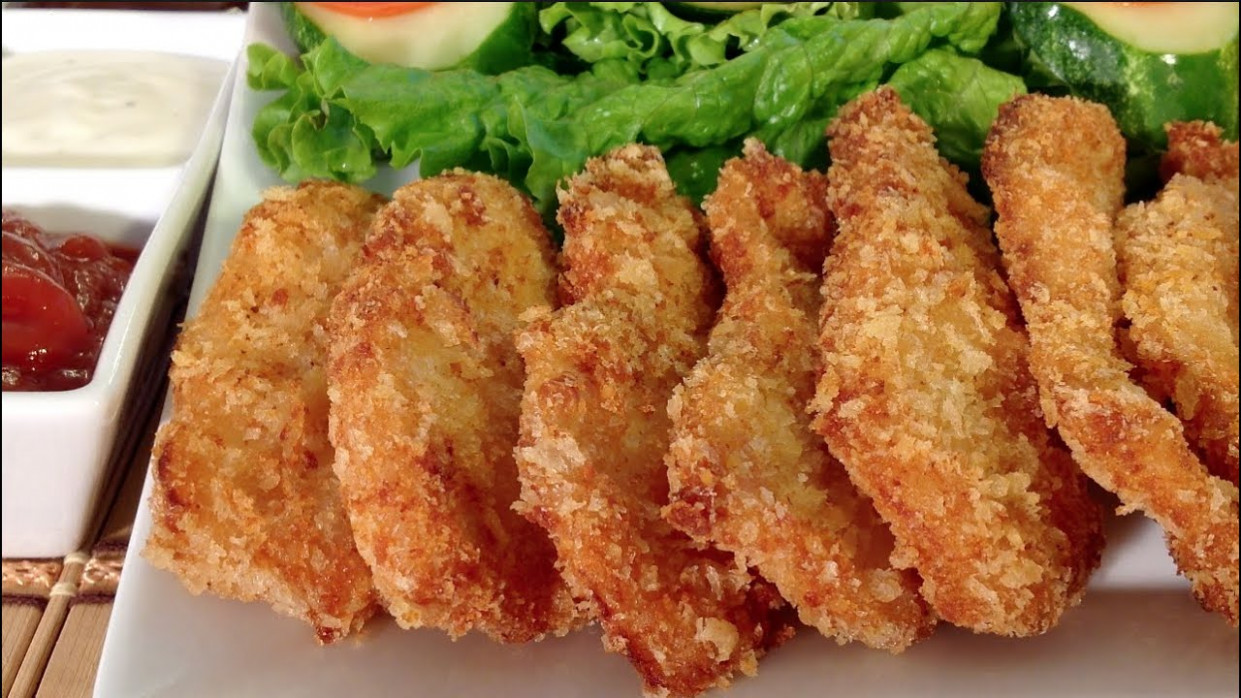 How To Make Easy Chicken Nuggets Quick Finger Food Recipes ...