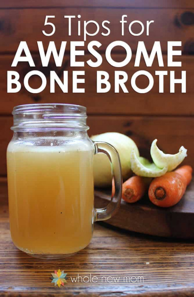 How to Make Homemade Bone Broth | Chicken Broth Recipe
