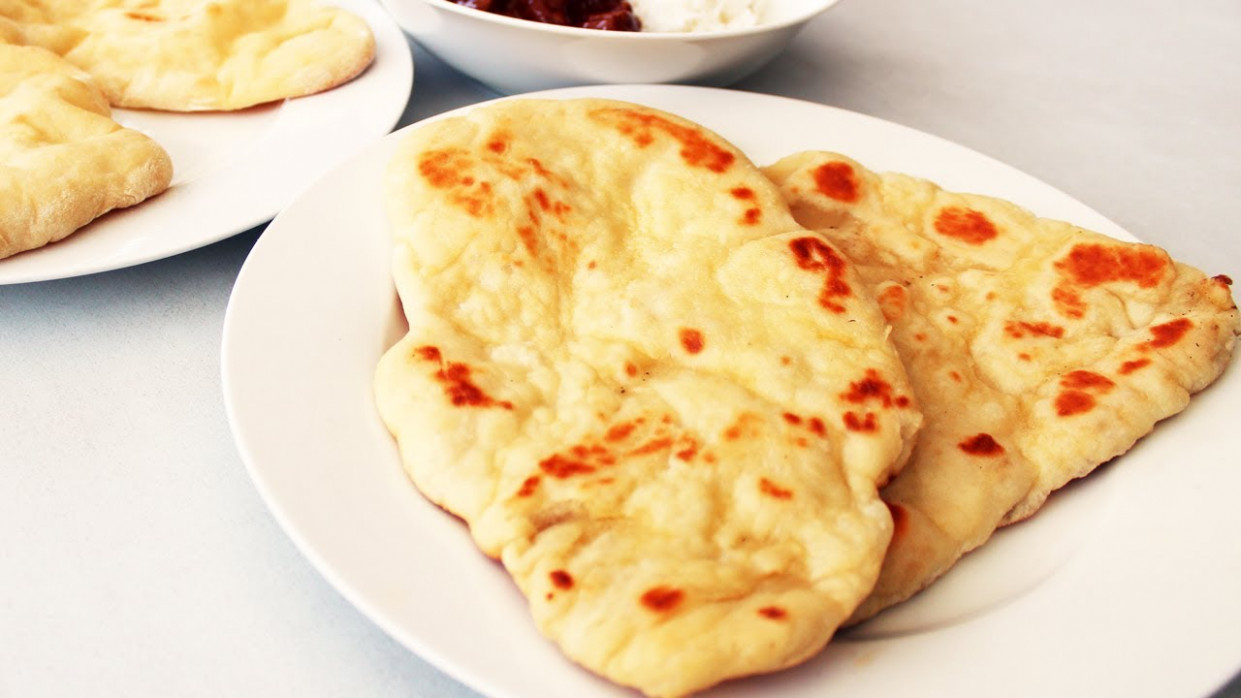 How To Make Naan Bread - Indian Video Recipe - YouTube