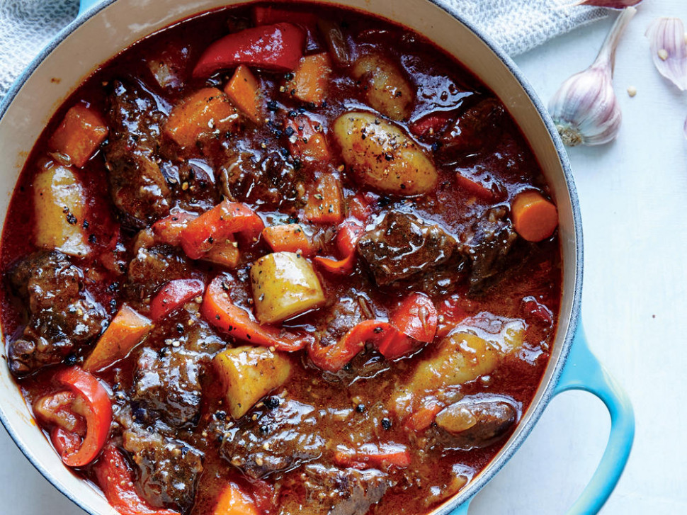 Hungarian Beef Stew Recipe | MyRecipes