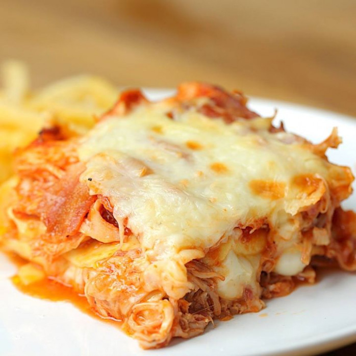 Hunters Chicken Lasagna - Cooking TV Recipes