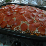 I Put Together A PIZZA CASSEROLE ABLE TO FEED 40 PEOPLE …