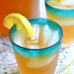 Iced Green Tea With Coconut Water