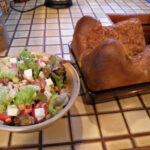 Impossible Pie And Salad