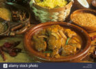 India Food Chicken Xacuti and Coconut Rice Goa Stock Photo ...