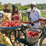 India – Telangana – Hyderabad – Market – Pomegranate Seller – 1
