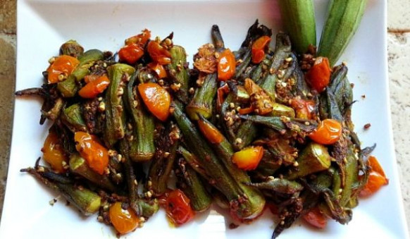Indian Okra Recipe - How To Make Indian Okra - How To ...