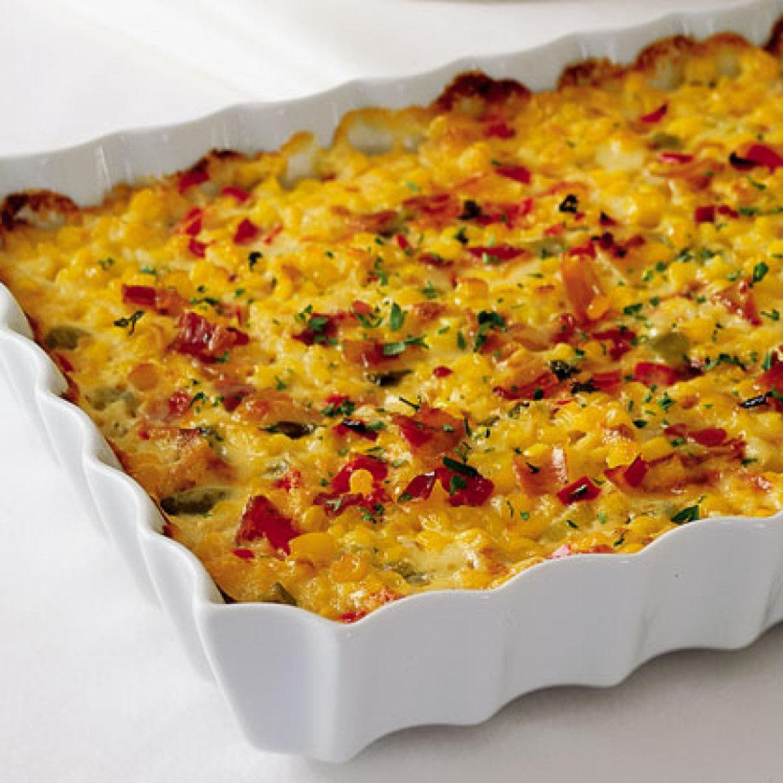 Indiana Corn Casserole Recipe | Just A Pinch Recipes