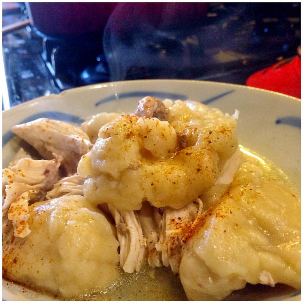 "Inspired By Chef Sean Brock's Mom, I Gave Here Recipe For Chicken & Dumplings A Try. She Was Featured On This Seasons ""Mind Of A Chef"" The ""Roots"" Episode. The Recipe Seemed Too Simple"