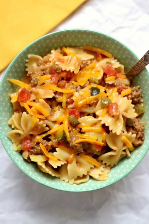 Instant Pot Cheeseburger Pasta - 365 Days of Slow Cooking ...