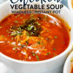 Instant Pot Chicken Vegetable Soup | The Bewitchin' Kitchen