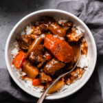Instant Pot Hawaiian Beef Stew