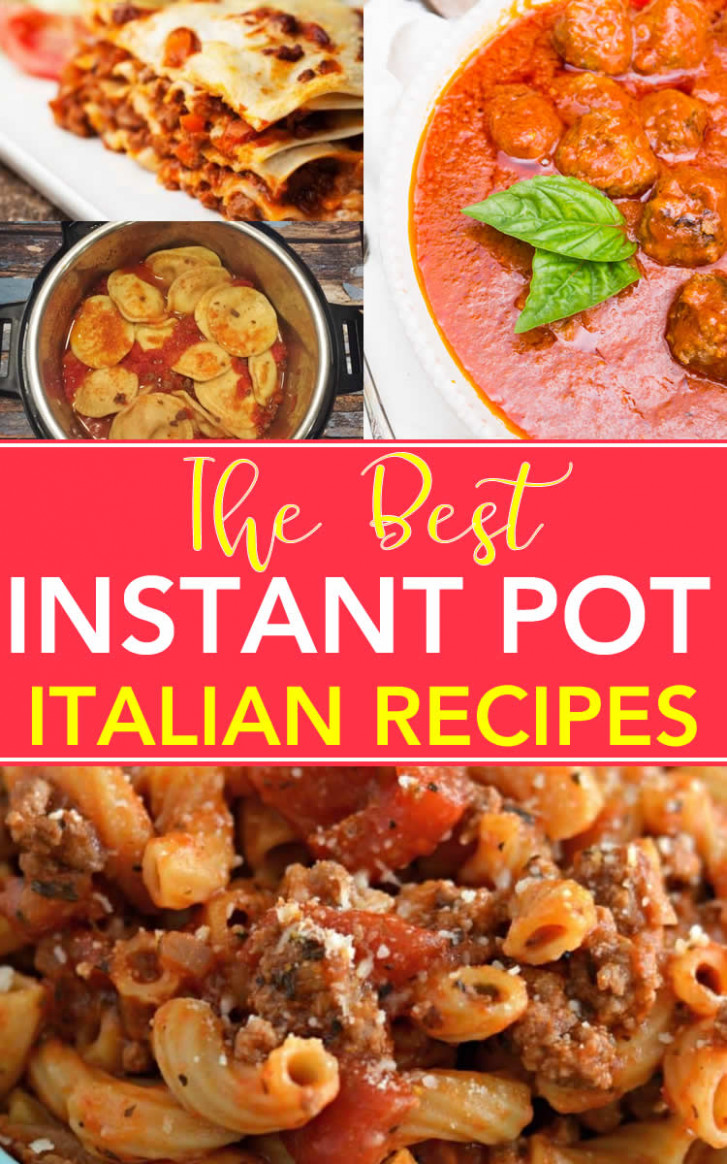 Instant Pot Italian Recipes That Will Have You Saying …