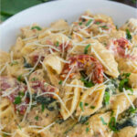 Instant Pot Tuscan Chicken Pasta [VIDEO] – Sweet And …