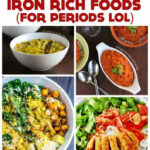 Iron Rich Foods For When I'm On My Period… =P …